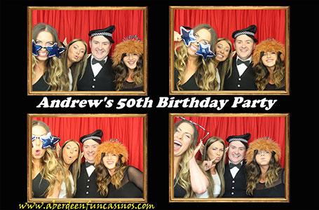 Aberdeen Fun Casino Photobooth