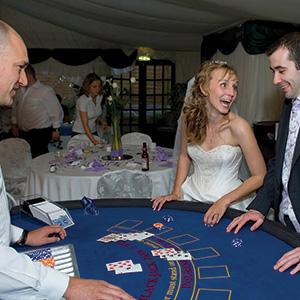 Edinburgh Fun Casino Wedding