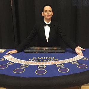 Aberdeen Fun Casino Stud Poker Table