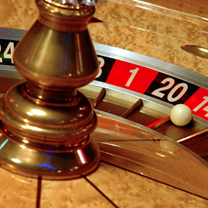 Edinburgh Fun Casino Roulette Wheel