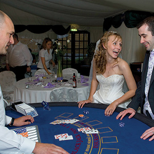 Edinburgh Fun Casino Wedding
